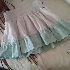 Girls Roxy short skirt size 10